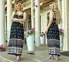Літнє довге плаття 52-56розміру, 3 кольори Черновцы