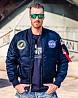 Льотна куртка NASA MA-1 Flight Jacket Alpha Industries (синя) Одесса
