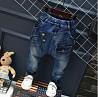 Шикарные Утепленные джинсы на флисе 100, 110, 120, 130, 140 см для мальчика осень-зима Харьков