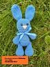 Амигуруми зайка заяц вязаная игрушка 19 см. ручная работа hand made для малыша зайчик Киев